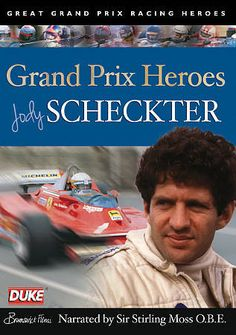 Buy Jody Scheckter Grand Prix Hero DVD - In the early days of his career, Jody Scheckter earned a reputation as the controversial wild man of Formula. Stirling, Jody Scheckter, Color Race, Interview, Gilles Villeneuve, British Grand Prix, Racing Team, World Championship, Formula One