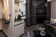 Junior Suite: Rooms at The Maslow incorporate every modern convenience, with touches of natural beauty to balance business with serenity. Serenity, Natural Beauty, Rooms, Business, Modern, Bedrooms, Trendy Tree, Store, Business Illustration