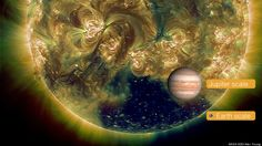 Coronal Hole Spotted On The Sun Is Hundreds Of Times Bigger Than The Earth