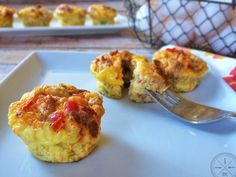 Spicy Egg Muffins #OurPaleoLife