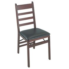 Cosco Wood Ladder Back Folding 2 Pack Chairs