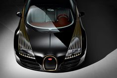 New Release Bugatti Veyron Black Bess 2014 Review Front View Model