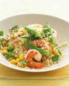 Shrimp with Whole-Wheat Couscous