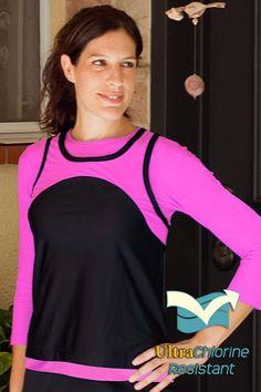 c2ae0865c12 Eclipse swim and sport short sleeve rashguard - chlorine proof