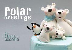 Polar bear & penguin - Cakes & Sugarcraft Magazine