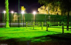 Courts, Furnace Creek Ranch, Death Valley, California 7:19 PM.