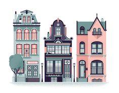 "Consulta este proyecto @Behance: ""Row Houses"" https://www.behance.net/gallery/28117067/Row-Houses"