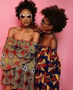 It's a Thing: The Kimono Jacket | African Prints in Fashion | beautiful black women | Natural Hair | Bold colours | printed fashion