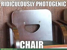 Smiling objects always make me laugh!