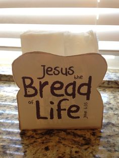 Jesus Is The Bread Of Life On Pinterest Breads