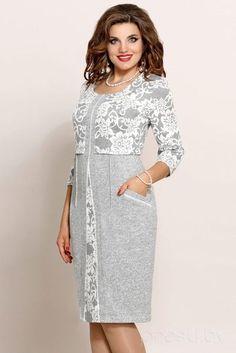 23 Plus Size Outfits, die Sie besitzen sollten – Mode neue Trends - Outfits Office Dresses For Women, Dresses For Work, Clothes For Women, Wrap Dresses, Simple Dresses, Elegant Dresses, Short Dresses, Modest Fashion, Fashion Dresses