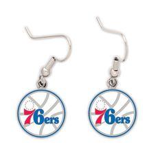 Philadelphia 76ers Dangle Earrings - Sunset Key Chains