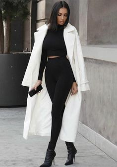 Boujee Outfits, Cute Casual Outfits, Stylish Outfits, Classy Chic Outfits, Night Out Outfit Classy, Stylish Winter Outfits, Female Outfits, Glamorous Outfits, City Outfits