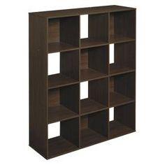 ClosetMaid Cubeicals 12-Cube Organizer Shelf - Espresso : Target