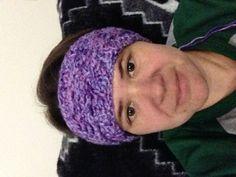 New headband, ear-warmers... handmade crocheted