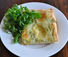 Rezept Kräuter-Pizza mit Ruccola (vegetarisch) von Blauknuffel13 - Rezept der…