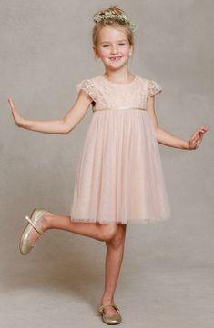 Jenny Yoo 'April' Lace & Tulle Dress (Toddler, Little Girls & Big Girls) -flower girl dress