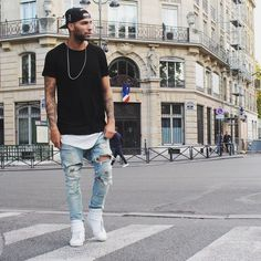 Portentous Useful Tips: Urban Fashion Boys Internet urban fashion accessories style.Urban Fashion For Women Chic urban wear for men black. Estilo Dope, Estilo Swag, Swag Style, Edgy Style, Style Men, Fashion Moda, Urban Fashion, Fashion Edgy, Swag Fashion
