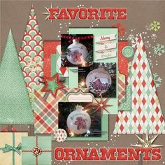 Shabby Christmas by Designs by Amber Shaw - Scrapbook.com