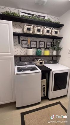 Rustic Laundry Rooms, Mudroom Laundry Room, Laundry Room Remodel, Laundry Decor, Laundry Room Cabinets, Laundry Room Organization, Laundry Room Design, Small Laundry Rooms, Laundry Room With Storage