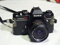 Konica Autoreflex TC Vintage Camera-Print cameras still rock!