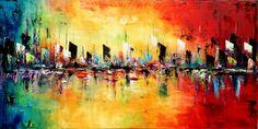 "For Sale:  From dawn till dusk  by ModernArtbyAda    $250   60""w x 30""h   Original Art   http://www.vangoart.co/buy/art/from-dawn-till-dusk @VangoArt"