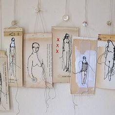 Textile Art 224405993908678482 - L'Art textile poétique de Cathy Cullis Source by loladufaubourg Mixed Media Collage, Collage Art, Paper Embroidery, Art Plastique, Tag Art, Fabric Art, Medium Art, Textile Art, Textile Texture