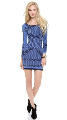 Bella Coachella Intarsia Dress