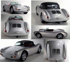 Beck 356 Porsche Speedster and Chamonix 550 Spyder Replica / Kit Cars