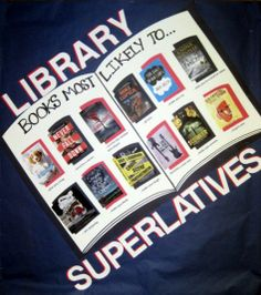 image of Library Superlatives bulletin board
