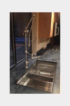 Custom Stainless Steel Colander for Ledge Sink Double Bowl Sink, Sinks, Kitchen Sink, Utensils, Stainless Steel, Accessories, Sink Units, Vanity Basin, Flatware