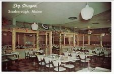 SCARBOROUGH ME Sky Dragon Chinese Restaurant postcard