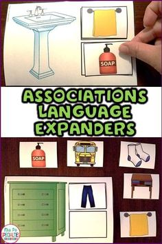 Help you students learn what goes together and work to be able to explain why. These qwork really well in my work task boxes and with direct instruction in my special education classroom. These are especially helpful for students with autism and for speech therapists.