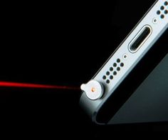 Get some additional use out of your phone during important presentations by equipping it with the iPhone laser pointer. Once this small laser pointer is inserted into the headphone jack, it transforms into a fully functional laser point perfect for blinding co-workers!