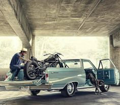 Lenny Jones on Behance Old Vintage Cars, Vintage Bikes, Custom Motorcycles, Cars And Motorcycles, Ad Car, Old Pickup Trucks, Moto Bike, Automotive Photography, Easy Rider