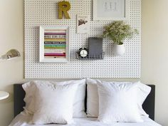 Utility meets style in every room of the home — from the garage to the kitchen to the office — thanks to clever uses of pegboard, a basic organization staple.