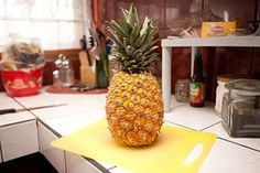 How to Tell if a Pineapple Is Ripe: 7 steps (with pictures) I just brought one home. It is still green but thank to this information I can hardly wait to taste sweet pineapple!