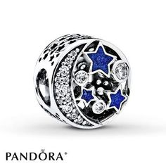 >>>Pandora Jewelry OFF! >>>Visit>> Check out the deal on PANDORA Vintage Night Sky Charm Shimmering Midnight Blue Enamel Clear CZ at Precious Accents Ltd. Charms Pandora, Pandora Christmas Charms, Pandora Beads, Pandora Rings, Pandora Bracelets, Pandora Jewelry, Enamel Jewelry, Pandora Moon, Pandora Charms