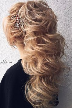 [tps_header] Browse best 40 hairstyle ideas from Nadi Gerber Make-up&Hair.[/tps_header] Long curls are fabulous, and if you don't have your own long hair, you can always add hair extensions. Half updos are stunnin...