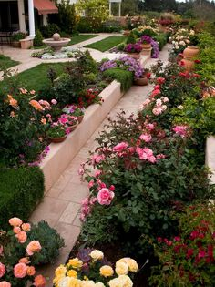 Simple Design Ideas Rose Garden Plans | flowers | Pinterest | Garden ...