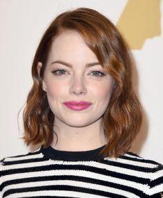 Emma Stone arriesgó y ganó imponiendo el #pelirrojo cobrizo dorado, otra de los tonos tendencia entre las celebrities #ginger