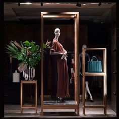 "MAXMARA,London, UK, ""Hello... I would like to take this opportunity to introduce and celebrate the arrival of the Dark Green Whitney Bag"", pinned by Ton van der Veer"