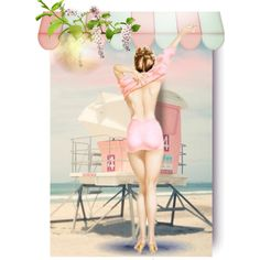 """Summertime"" by patrizia-brasil on Polyvore"