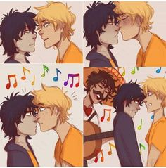 AWW!! Leo I love you and all but...don't mess up a solangelo moment!!!