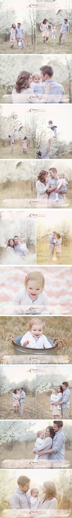 Gorgeous family session- love the neutrals and those TREES!