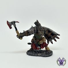 D&D - Gnoll Warrior, Bloodmane (by Reaper Miniatures) #ChaoticColors #commissionpainting #paintingcommission #painting #miniatures #paintingminiatures #wargaming #Miniaturepainting #Tabletopgames #Wargaming #Scalemodel #Miniatures #art #creative #photooftheday #hobby #dungeonsanddragons #dnd #frostgrave #rpg #roleplay #paintingwarhammer  #ageofsigmar #whfb #fantasy #warhammerfantasy #Kingsofwar #kow #kingsofwarvanguard #reaper #reaperminiatures #GnollWarriorBloodmane #Gnoll #Warrior… Warhammer Fantasy, Warhammer 40k, Dungeons And Dragons, Age Of Sigmar, Reaper Miniatures, Creative, Painting, Color, Hobbies