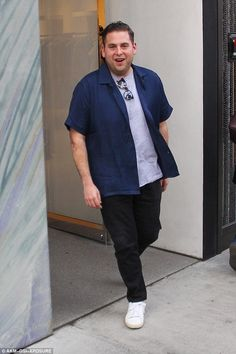 And many more: Jonah Hill celebrated turning 33 Tuesday with a walk around Beverly Hills