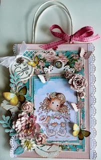 Cards and Quilts: Magnolia Sakura Tilda - Special Moments collection 2013