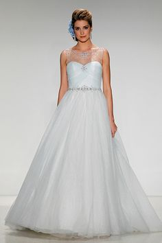 Gown by Disney Fairy Tale Weddings By Alfred Angelo.Check out more gorgeous dresses in our wedding gown gallery ►
