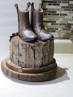 Cowboy Theme by Nancy Travis Wheaton's Fancy Cakes